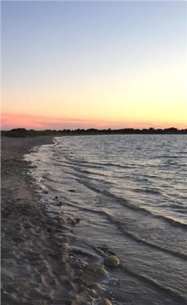 Mashpee Cape Cod vacation rental - Sunset at South Cape Beach