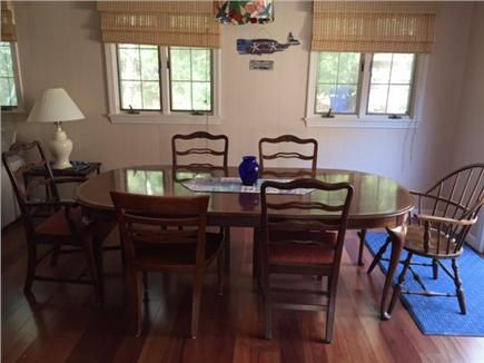 Mashpee Cape Cod vacation rental - Dining area seats up to 8 people comfortably