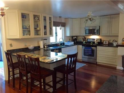 Mashpee Cape Cod vacation rental - Gorgeous, newly renovated kitchen with granite countertops