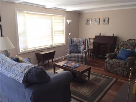 Mashpee Cape Cod vacation rental - Sunny, spacious living room