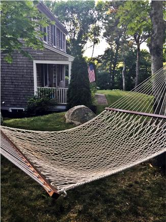 Brewster Cape Cod vacation rental - Relax on the hammock