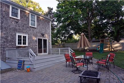 Brewster Cape Cod vacation rental - Play or relax in the spacious, private backyard with heated pool.