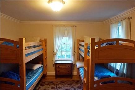 Brewster Cape Cod vacation rental - Spacious Kids room with two sets of bunks