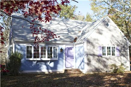 Orleans Cape Cod vacation rental - This is the front of the house w/a large yard - great for games