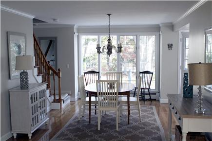 Orleans Cape Cod vacation rental - Dining room layout.