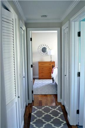 Orleans Cape Cod vacation rental - Hallway to bedrooms and bathroom.