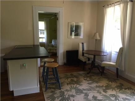 Sandwich Cape Cod vacation rental - Kitchen/dining area looking towards bathroom