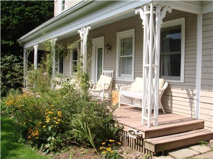 Sandwich Cape Cod vacation rental - Porch outside of apartment with separate entrance