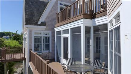 Orleans Cape Cod vacation rental - Additional outdoor eating on the back deck