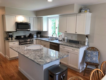 Orleans Cape Cod vacation rental - Main house's recently and beautifully renovated kitchen