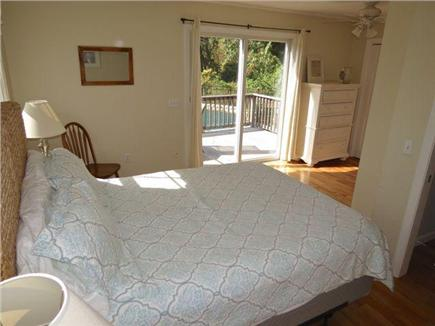 Orleans Cape Cod vacation rental - Another front house queen, this one walks out to deck and pool.