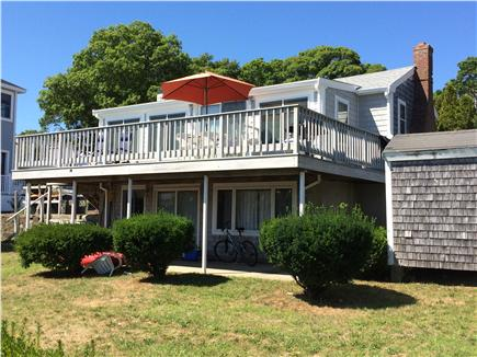 East Falmouth Cape Cod vacation rental - View of house from water
