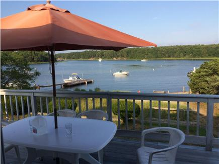 East Falmouth Cape Cod vacation rental - Deck and view