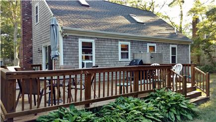 East Falmouth Cape Cod vacation rental - Back yard