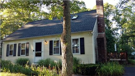 East Falmouth Cape Cod vacation rental - Front of the house from the driveway.