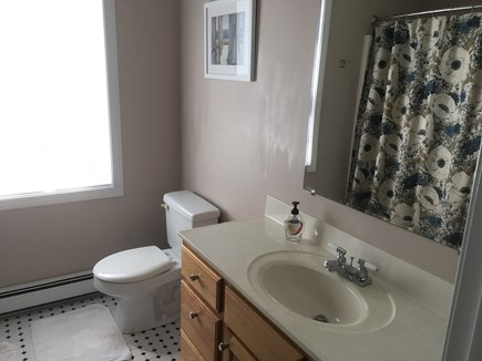 West Falmouth near Old Silver  Cape Cod vacation rental - Upstairs full bathroom