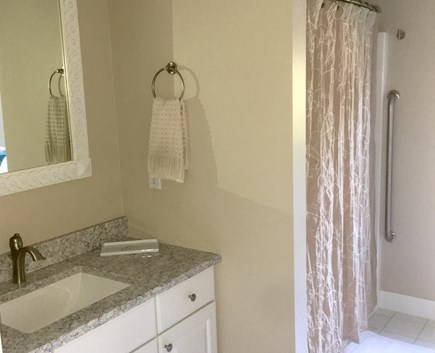 West Falmouth near Old Silver  Cape Cod vacation rental - Master bath
