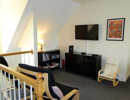 West Falmouth near Old Silver  Cape Cod vacation rental - Loft area – great for kids with TV and games