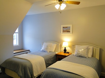 West Falmouth near Old Silver  Cape Cod vacation rental - Upstairs twin bedroom