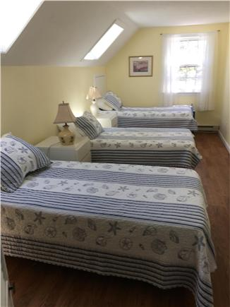 Harwich Port/South Harwich Cape Cod vacation rental - Triple twin BR in So Wing, light & bright. Watch stars at night!