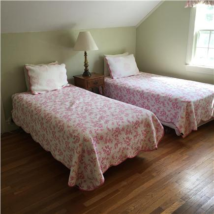 Harwichport/So Harwich, on cul Cape Cod vacation rental - Two twins bedroom upstairs in main house.