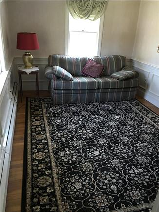 Harwichport/South Harwich Cape Cod vacation rental - Den on Main house 1st Flr with Full-sz pull-out bed. By 1/2 bath