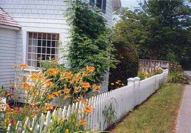 Barnstable Village Cape Cod vacation rental - Flowering Gardens and a Private Road