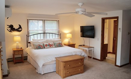 Chatham Cape Cod vacation rental - Master king bedroom suite with full bath and balcony
