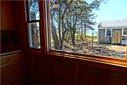 Wellfleet Cape Cod vacation rental - View from kitchen