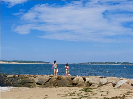 Wellfleet Cape Cod vacation rental - Beautiful water at low tide