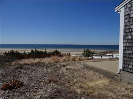 Wellfleet Cape Cod vacation rental - View in front of cottage