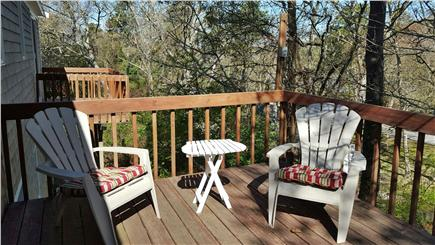 South Dennis Cape Cod vacation rental - Deck with Patio Furniture and Grill