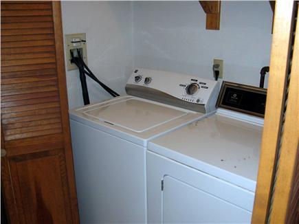 South Dennis Cape Cod vacation rental - Washer/Dryer Closet