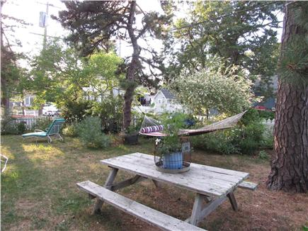 Dennisport Cape Cod vacation rental - Picnic Table