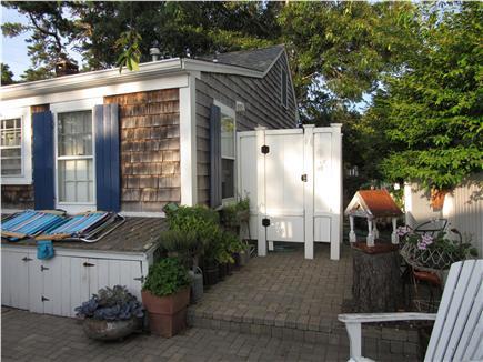 Dennisport Cape Cod vacation rental - Outdoor Shower