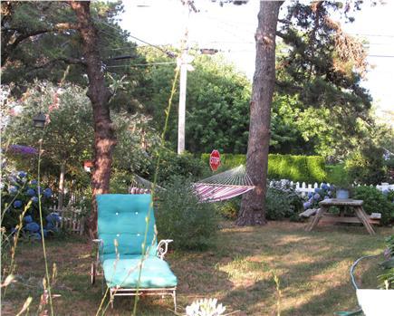 Dennisport Cape Cod vacation rental - Side Yard