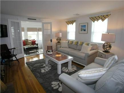 Dennis Port Cape Cod vacation rental - Enjoy TV or sneak away to the sunroom to read a book