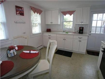 Dennis Port Cape Cod vacation rental - Second view of kitchen (dishwasher to be added, pics forthcoming)
