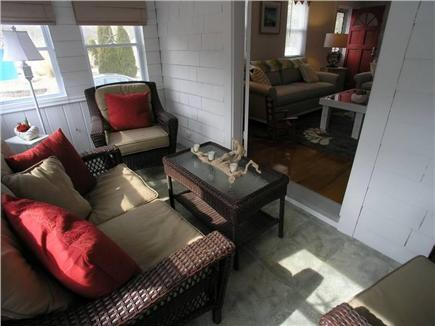 Dennis Port Cape Cod vacation rental - Take a break in the sunroom