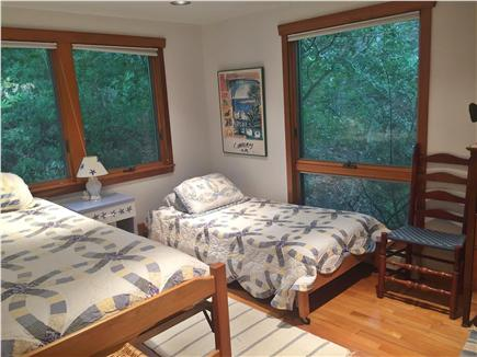 Falmouth, Woods Hole Cape Cod vacation rental - Bedroom with twin beds
