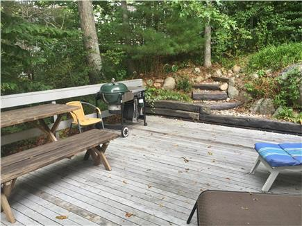 Falmouth, Woods Hole Cape Cod vacation rental - Deck off the kitchen