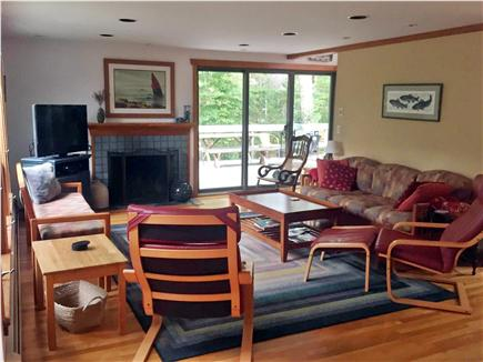 Falmouth, Woods Hole Cape Cod vacation rental - Living room
