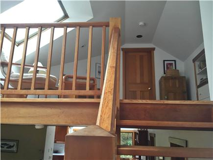 Falmouth, Woods Hole Cape Cod vacation rental - Loft to Bedroom 2