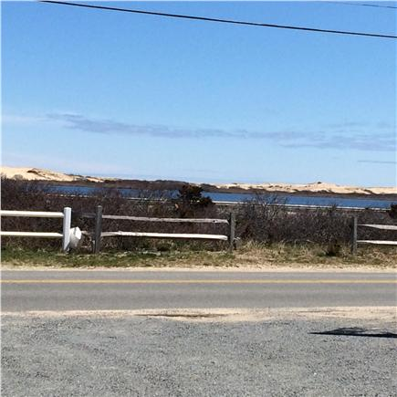 North Truro Beach Point Cape Cod vacation rental - Views of Pilgrim Pond from the cottage