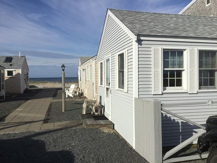 North Truro Beach Point Cape Cod vacation rental - Just 50 steps from the cottage to the sand!