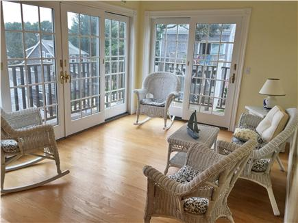 Dennisport Cape Cod vacation rental - Loft sun room