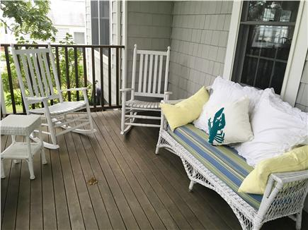 Dennisport Cape Cod vacation rental - Front porch