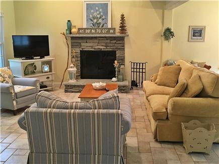 Dennisport Cape Cod vacation rental - Family room
