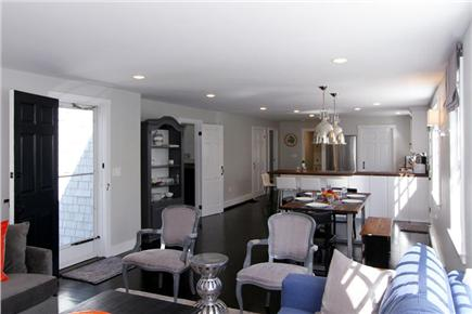 Orleans Cape Cod vacation rental - Gracious living/dining/kitchen (alternate view from living area)