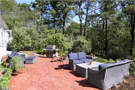 Orleans Cape Cod vacation rental - Outdoor patio with comfortable furnishings and gas grill